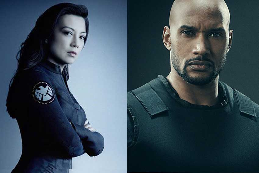 Ming Na Wen Henry Simmons Agents of Shield