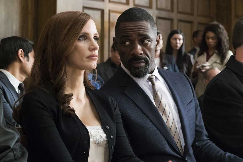 Molly Game Jessica Chastain Idris Elba