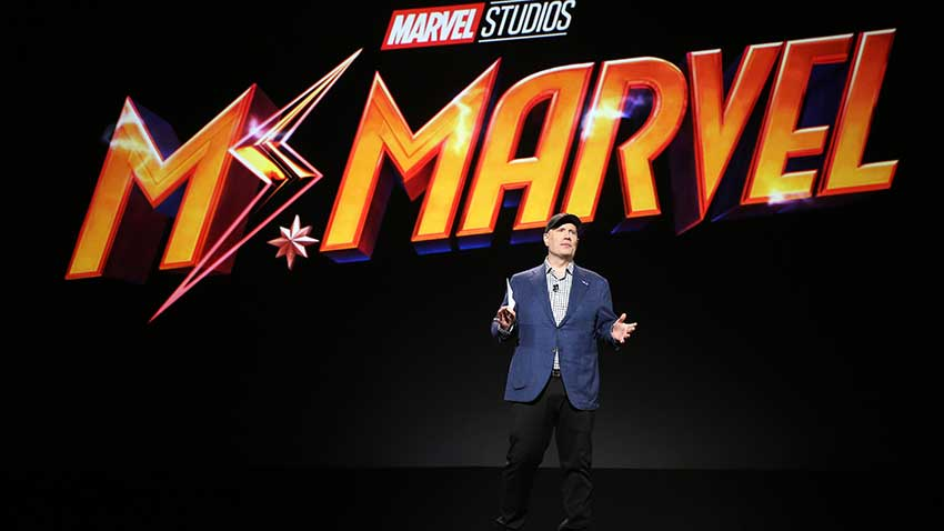 Ms Marvel D23 Kevin Feige Announcement