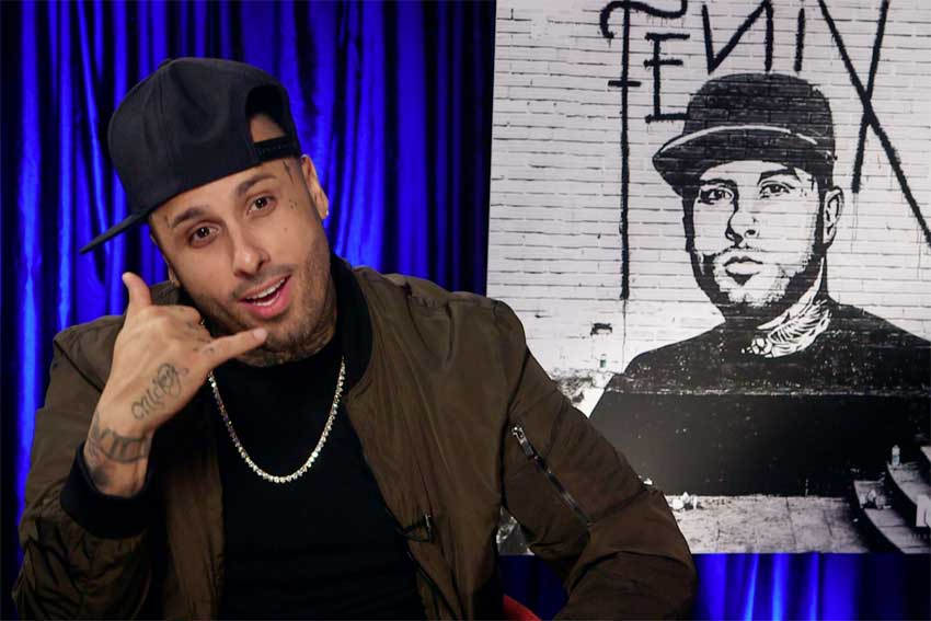 Nicky Jam XXX music CineMovie interview