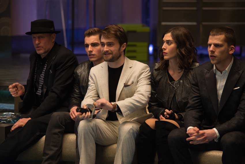 Now You See Me 2 Daniel Radcliff, Jesse Eisenberg, Woody Harrelson, Dave Franco,