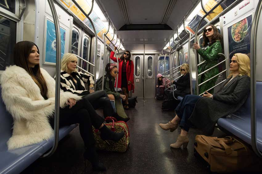 Oceans 8 first look cast photo