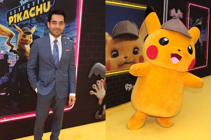 Omar Chaparro Consulted Son For Pokemon Movie And Charizard Deets