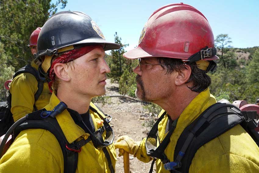 Only the Brave Miles Teller Josh Brolin