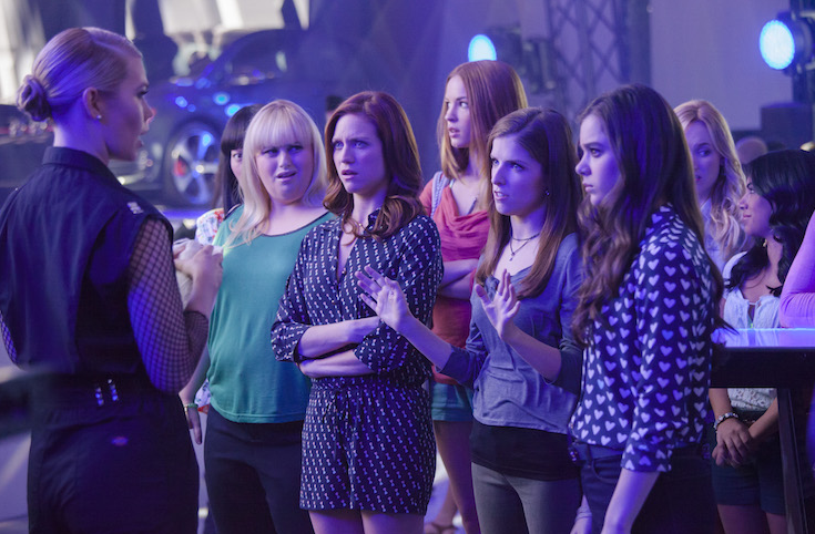 Pitch Perfect 2 movie Anna Kendrick, Rebel WIlson, Brittany Snow