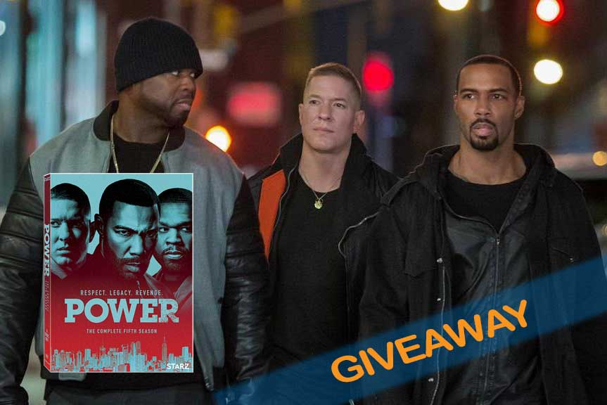 Power Season 5 DVD Giveaway banner