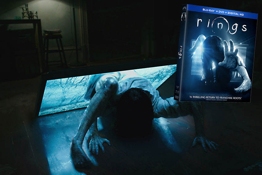 Rings 2017 movie Blu ray Combo Pack