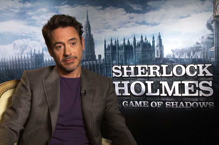 INTERVIEW: Robert Downey Jr. On Becoming Misses Holmes For ...