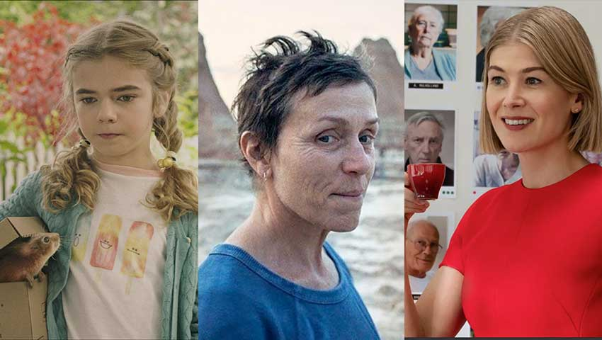Rosamund Pike Frances McDormand Matilda Lawler movies