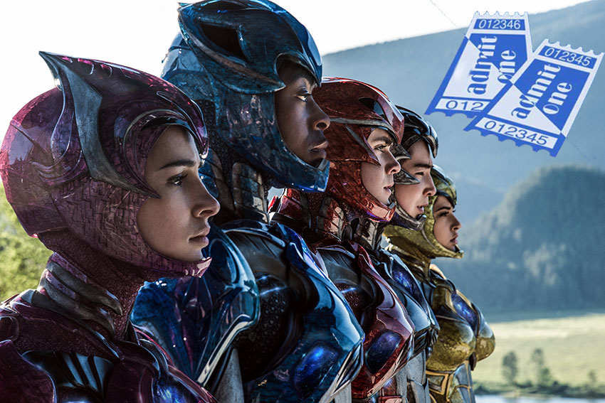 Sabans Power Rangers ticket giveaway