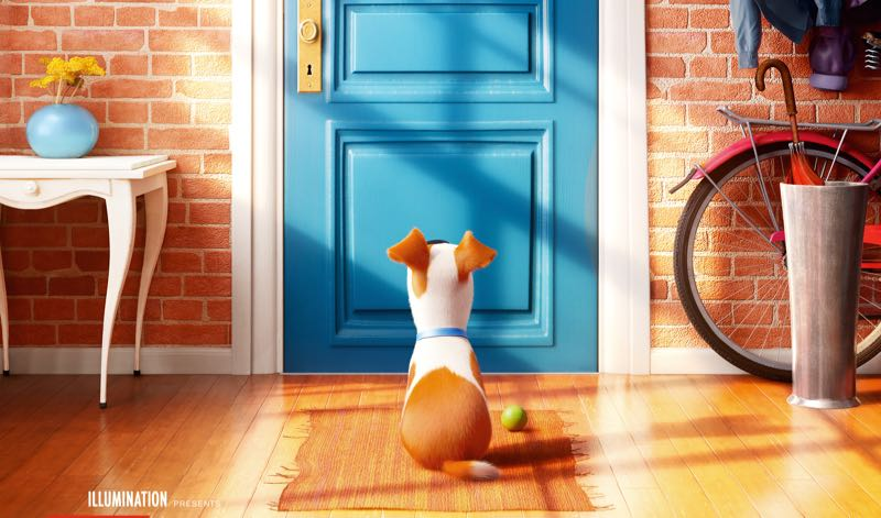 Secret Life of Pets movie poster image