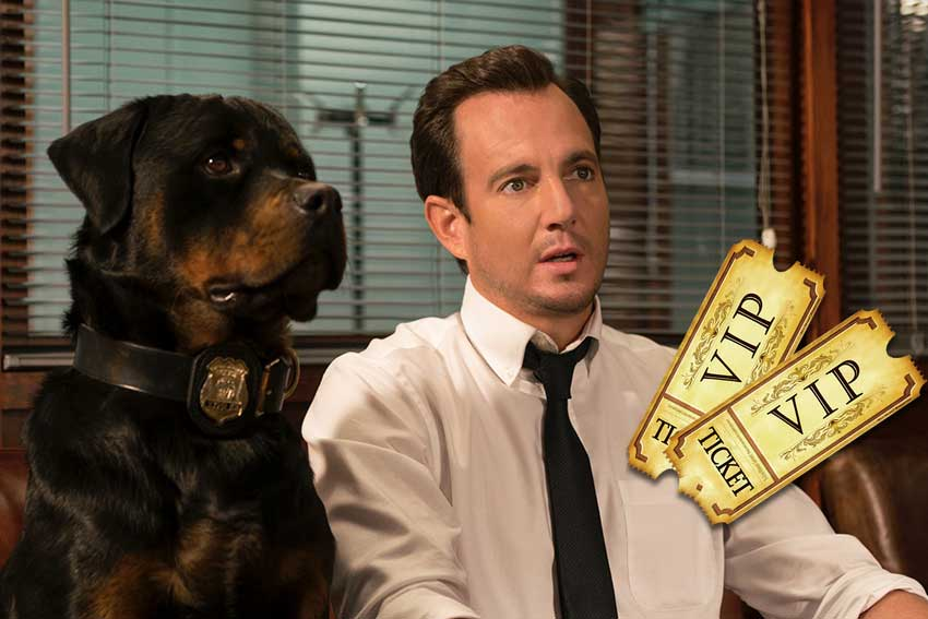 Showdogs movie premiere giveaway