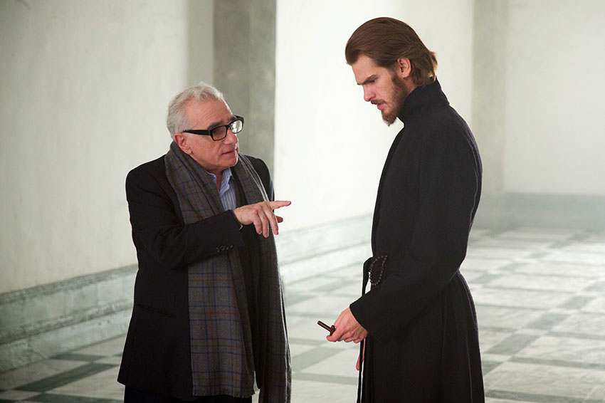 Silence Martin Scorsese and Andrew Garfield