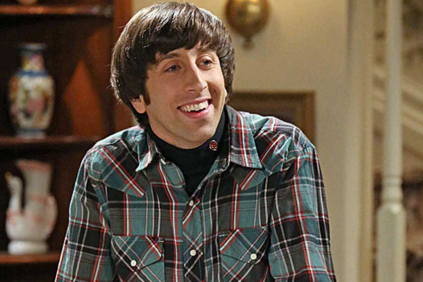 Simon Helberg Big Bang Theory