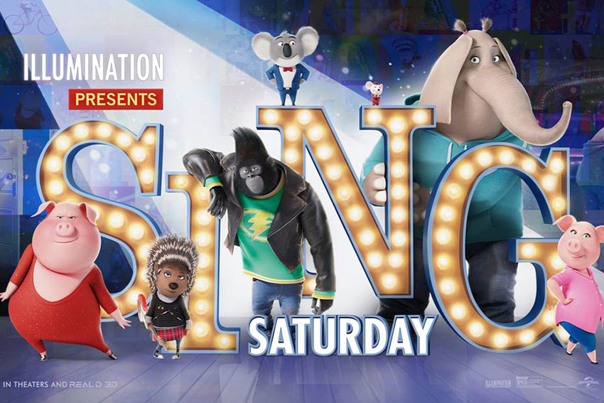 Sing Movie FreeScreening