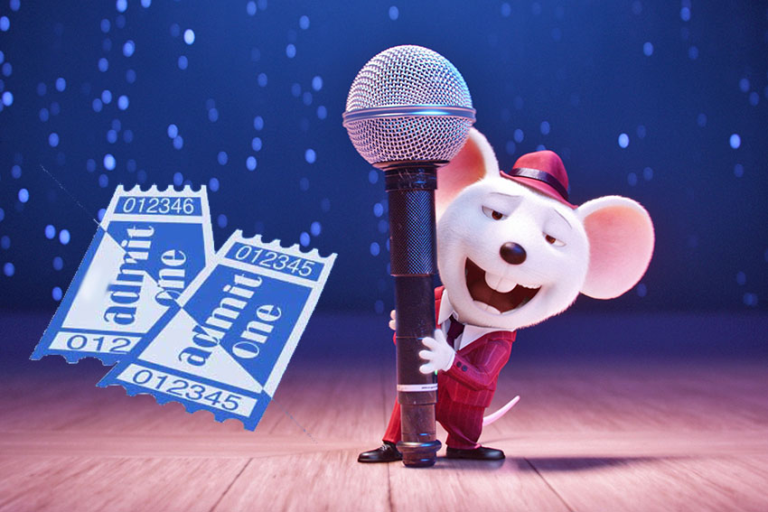 Sing Movie Ticket Giveaway