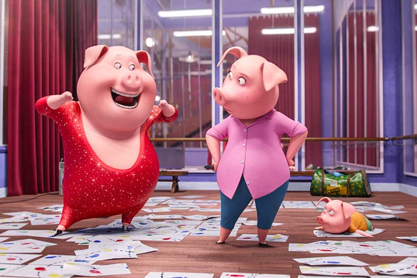 Sing Movie still