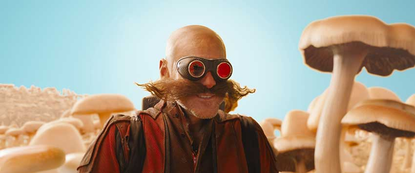 Sonic The Hedgehog movie Jim Carrey Dr Ivo Robotnik