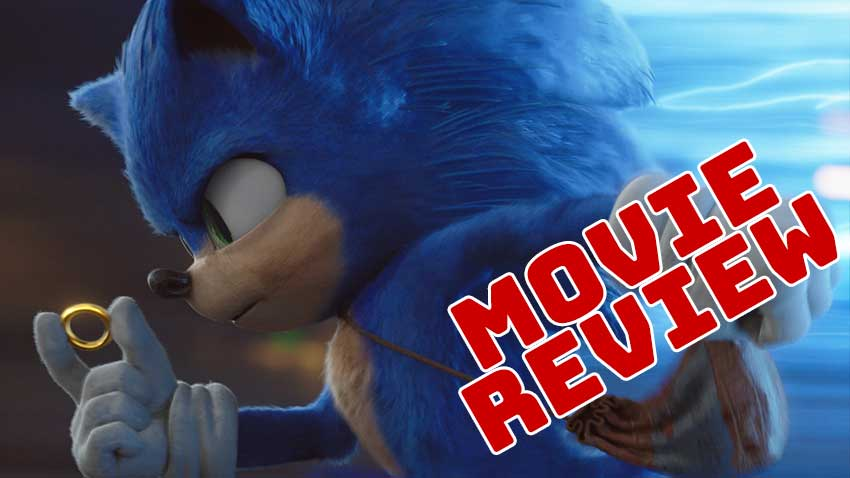 Sonic the movie review Cinemovie 850