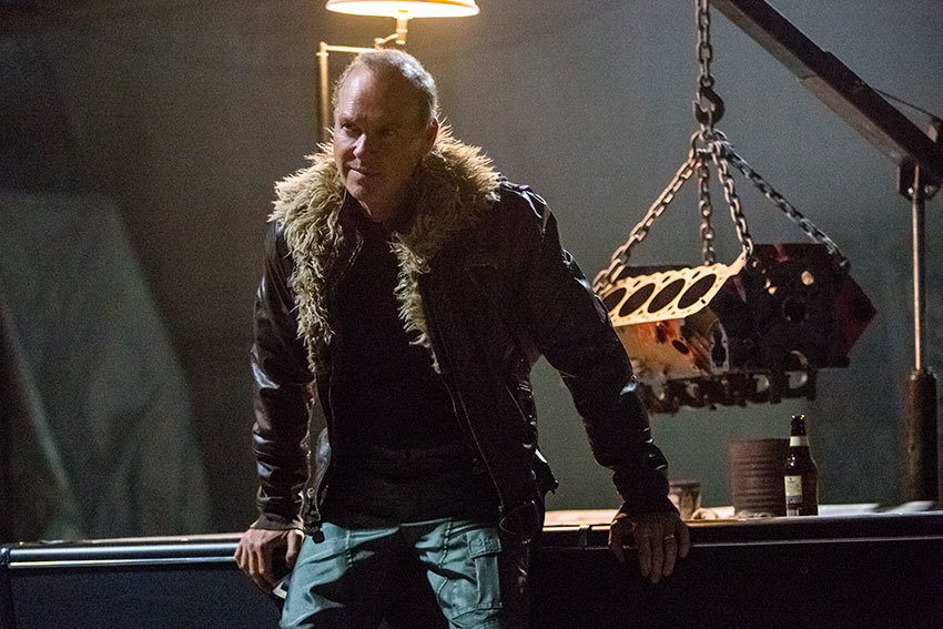 Spider Man Homecoming Michael Keaton