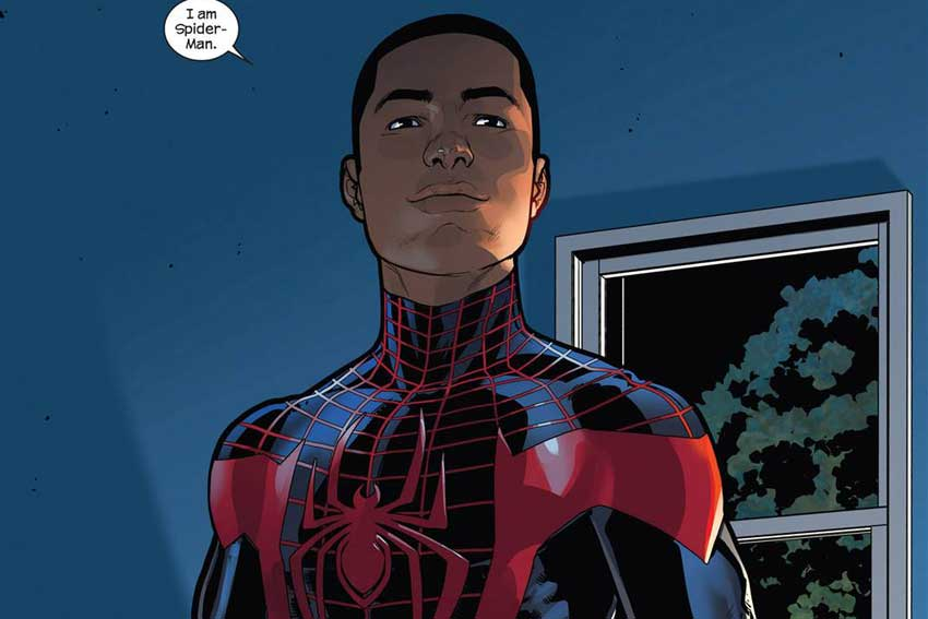 SpiderMan Miles Morales Marvel Comics