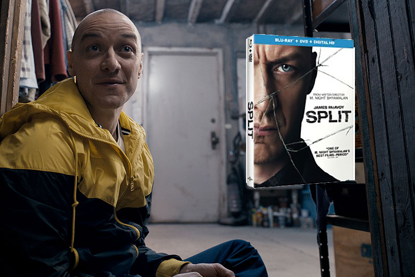 Split Blu ray news