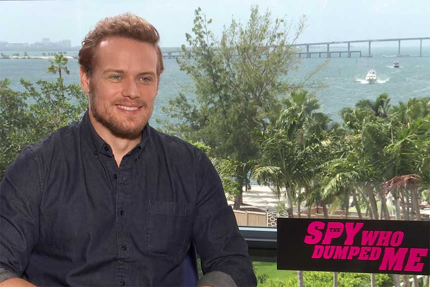 Sam Heughan Interview: 'The Spy Who Dumped Me' Star Would Love To