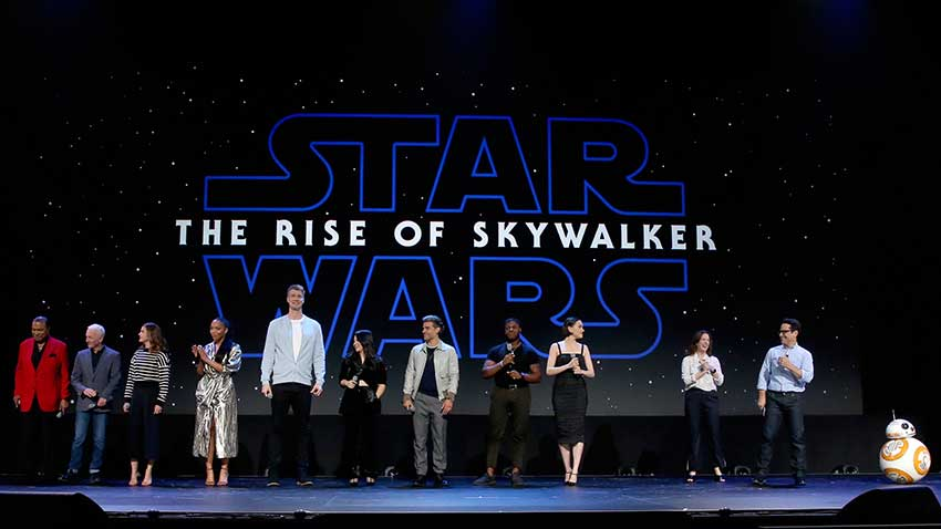 Star Wars Rise of Skywalker D23 Expo Panel Cast