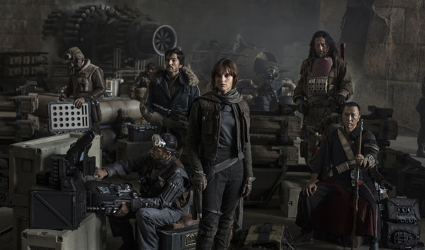 Star Wars Rogue Nation Cast Photo