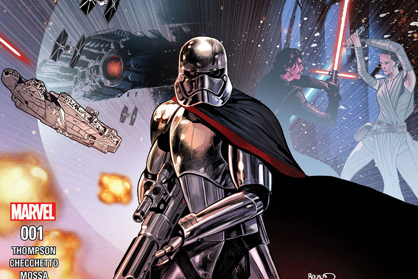 Star Wars Journey to Last Jedi Captain Phasma Cover 001