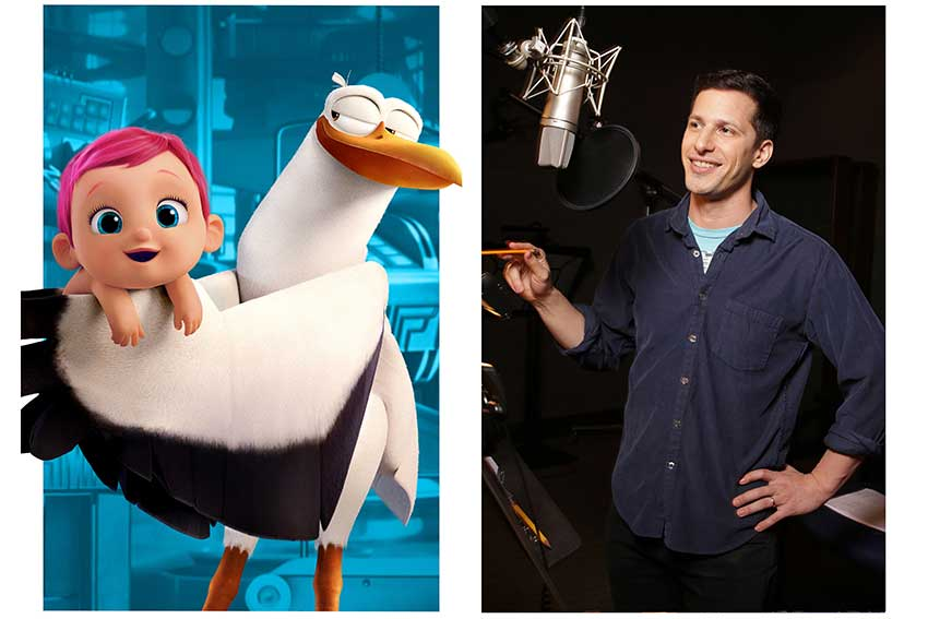 Storks Andy Samberg Junior