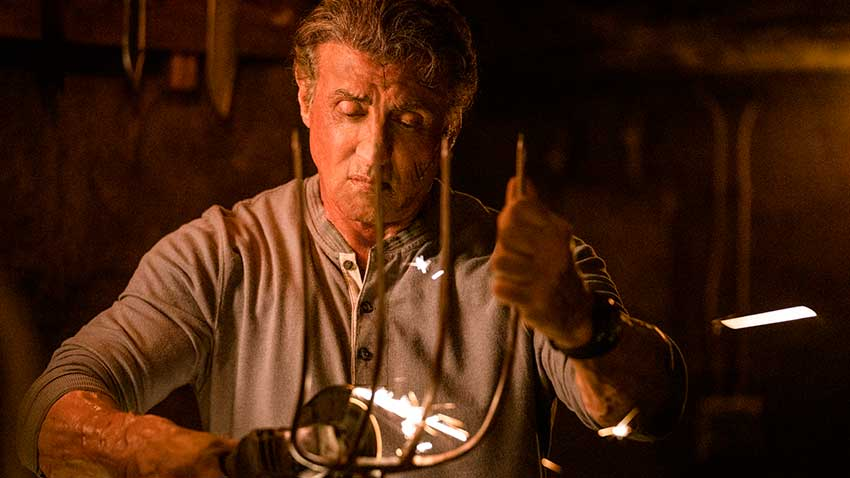 Sylvester Stallone Rambo Last Blood movie violence