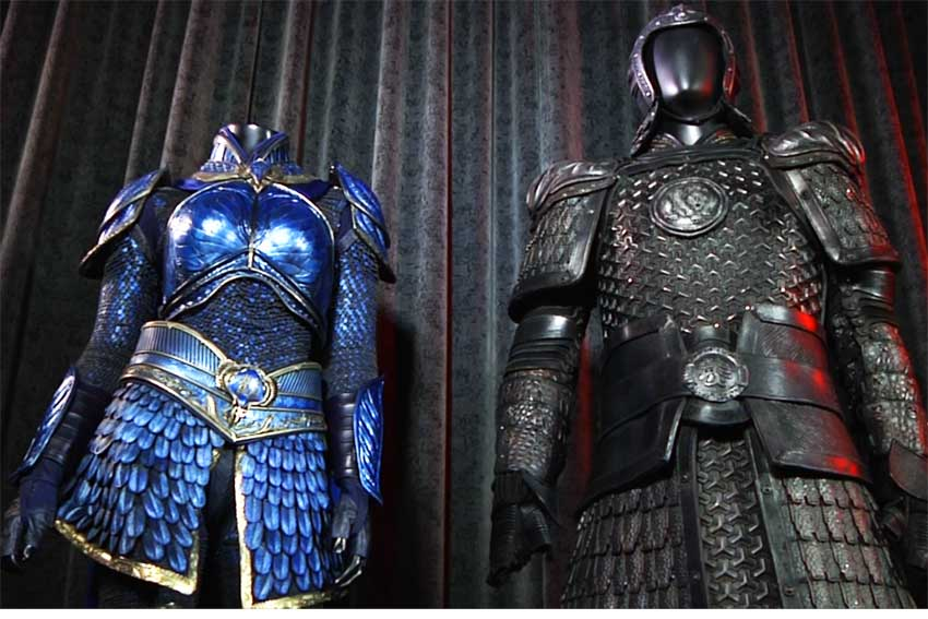 THE GREAT WALL Movie Costumes