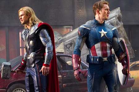 The-Avengers-Thor-Captain-America