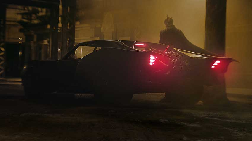 The Batman Batmobile 2021