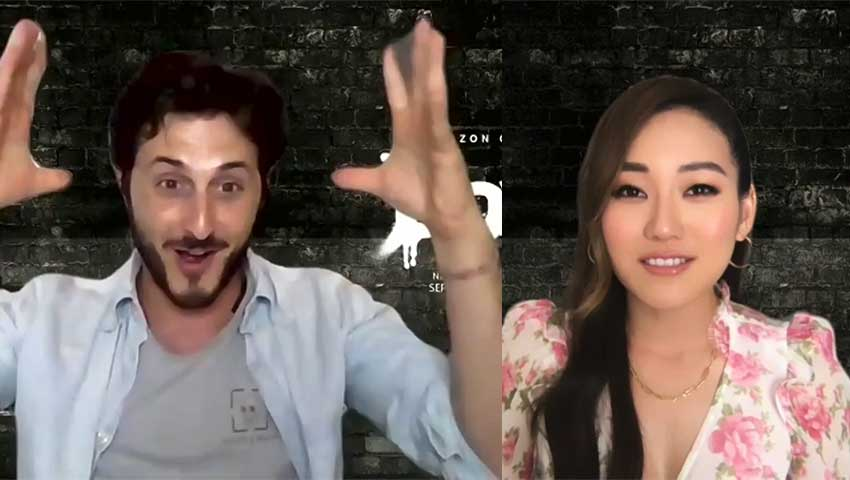 The Boys Karen Fukuhara Tomer Capon interview
