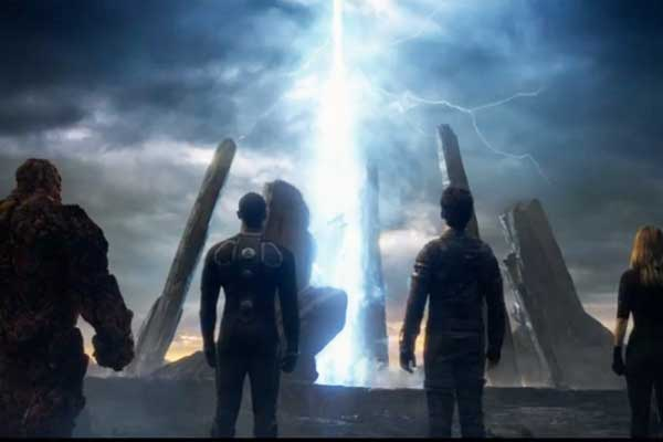 The Fantastic Four 2015 movie