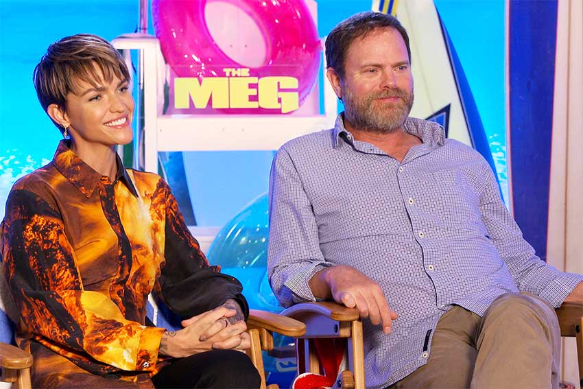 The Meg Ruby Rose Rainn Wilson interview