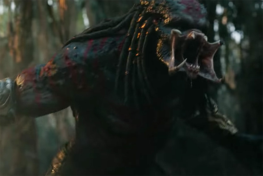 The Predator 2018 new monster