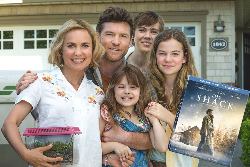The Shack Blu-ray/DVD Giveaway