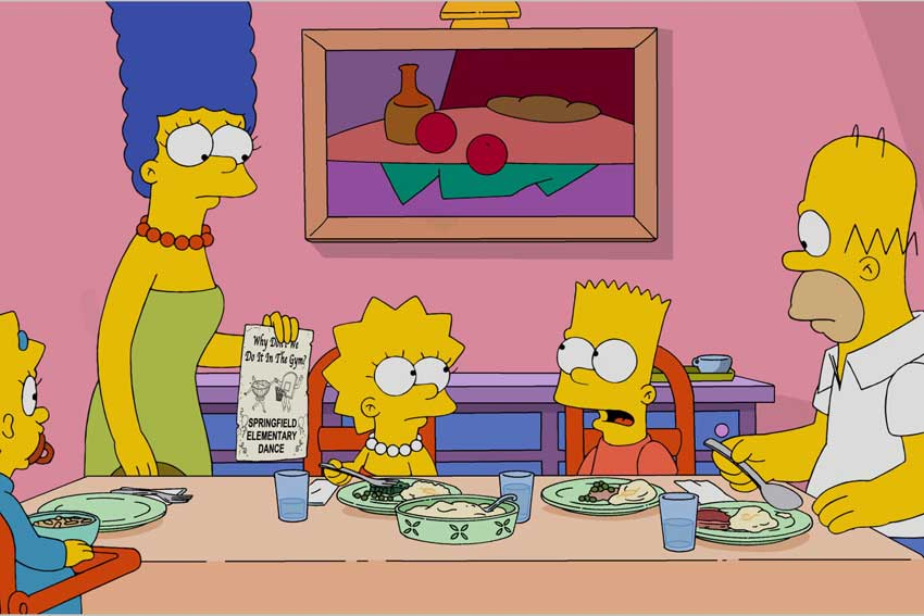 The Simpsons 600 episode