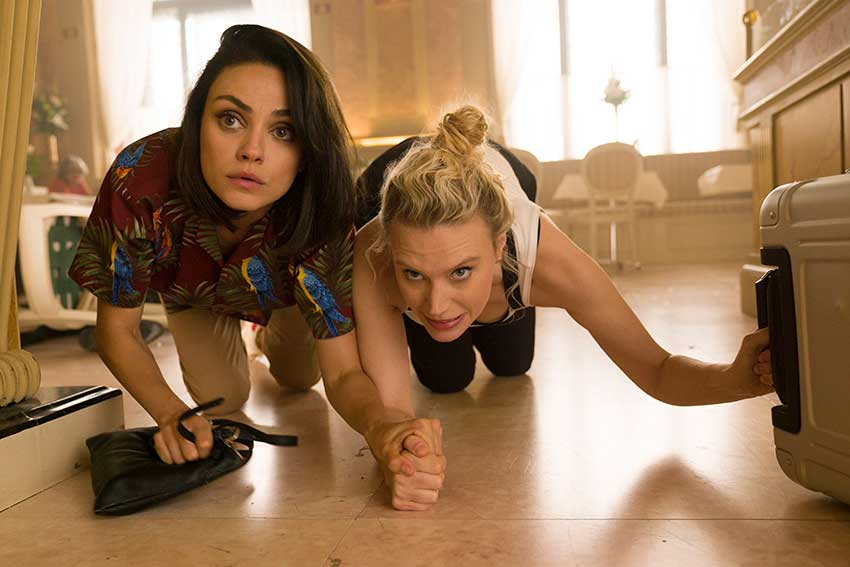 The Spy Who Dumped Me Mila Kunis Kate McKinnon