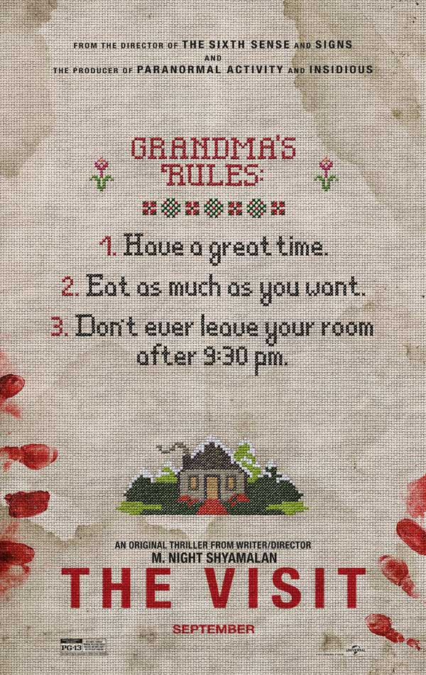 The Visit movie poster 600