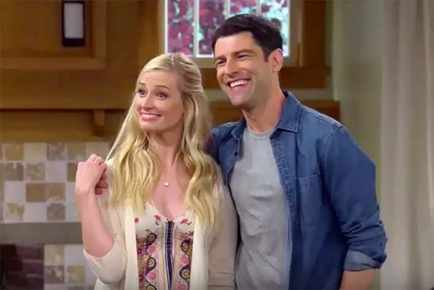 The Neighborhood Beth Behrs Max Greenfield