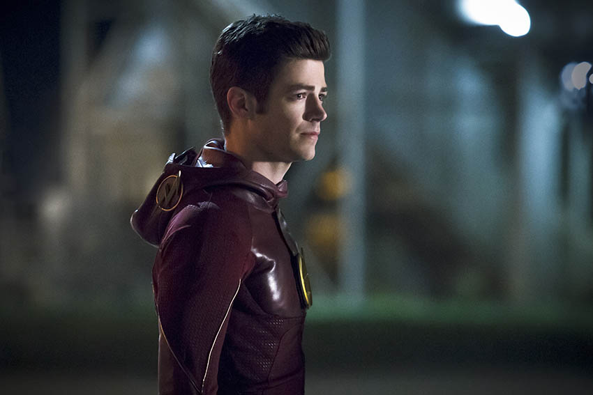 The Flash season 3 Grant Gustin