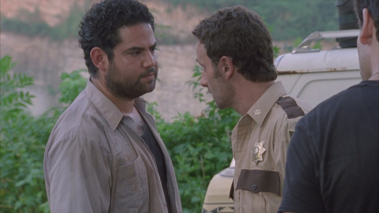 The Walking Dead Season 1 Andrew Lincoln Juan Gabriel Pareja