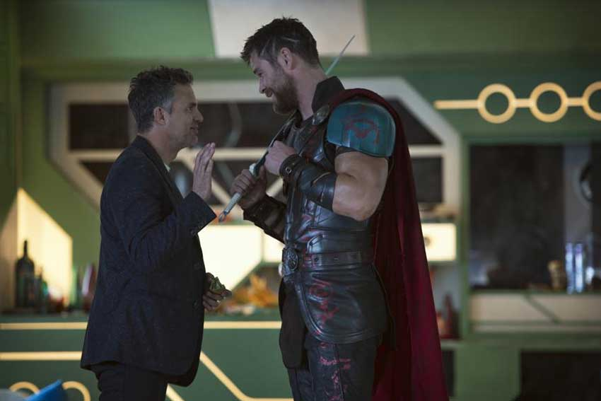 Thor Ragnarok Mark Ruffalo Chris Hemsworth