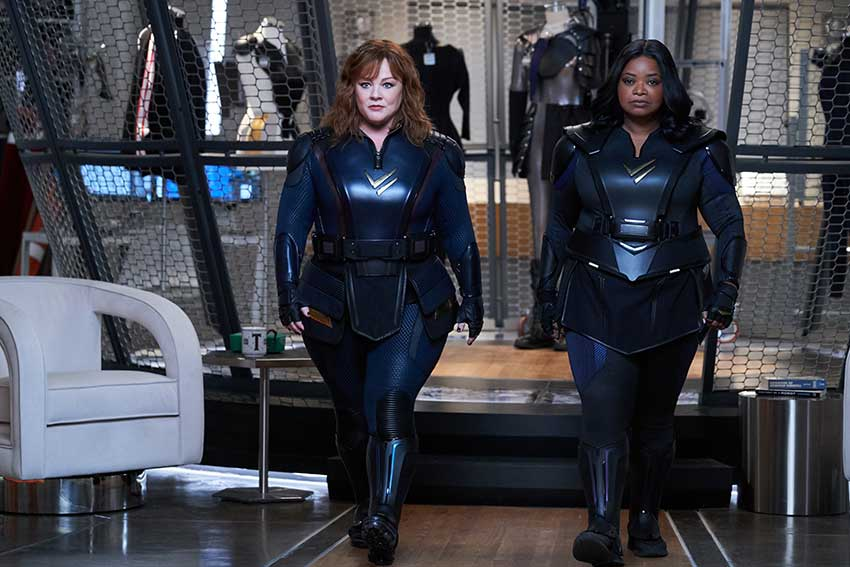 Thunder Force Melissa McCarthy Octavia Spencer