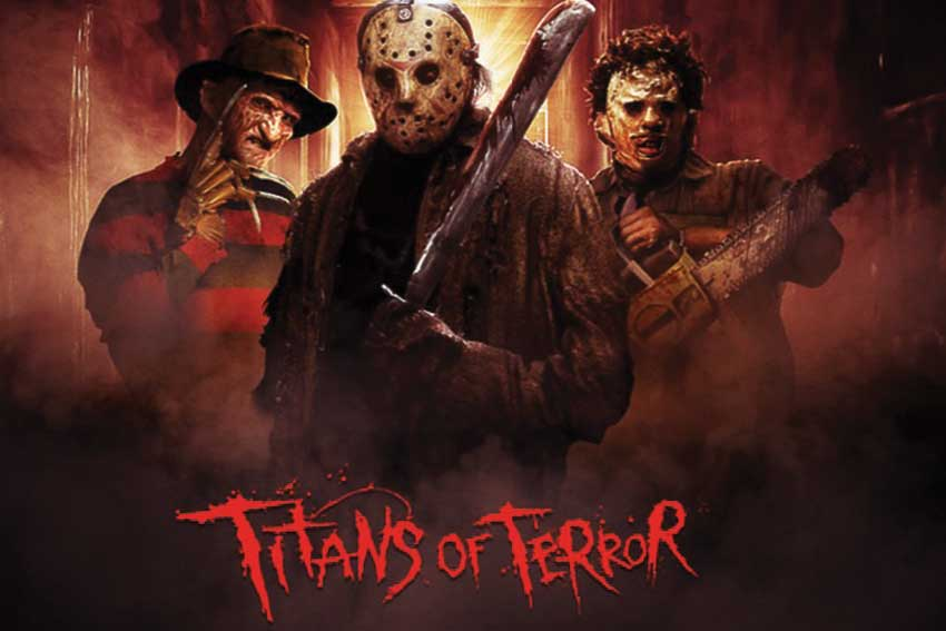 Titans of Terror Maze Halloween Horror Nights
