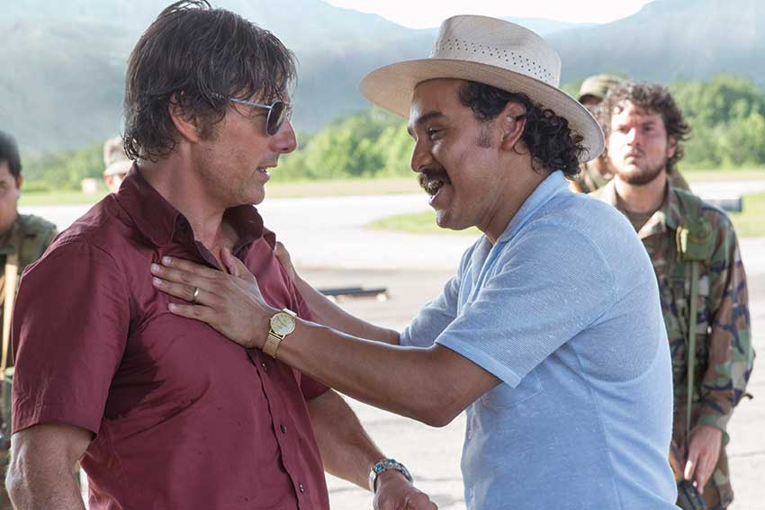 Tom Cruise Alejandro Edda American Made movie